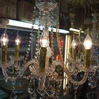 harga Lampu Lilin Kristal Cab 6 Gold Tokopedia.com