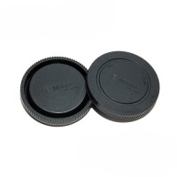 Jjc L-r9 Sony Nex E Mount Rear Lens & Camera Body Cap