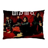 Sarung Bantal Custom 30 Second To Mars 45x65 cm gambar 2 sisi #1