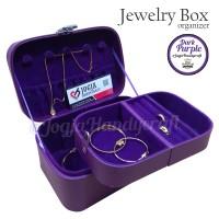 Jewelry Box / Tempat Perhiasan / Kotak Perhiasan Dan Accesories (ungu)