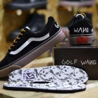 harga sepatu sneakers main keren sekolah kuliah vans old skool golf wang Tokopedia.com