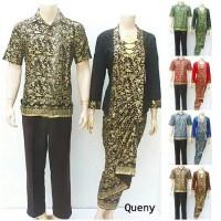 Sarimbit Batik Solo, Couple Batik Quenny Rose
