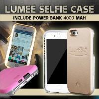 LUMEE - Samsung S6 Edge Dark Grey + Power Bank 4000 mAh