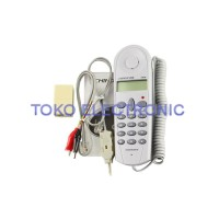 Telephone Phone Line Network Cable Tester Butt Test Tester AX13