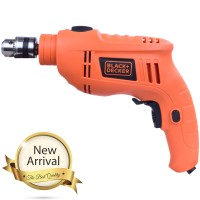 Black + Decker Hammer Drill 550 Watt 10 Mm TB555B1 / TB 555B1