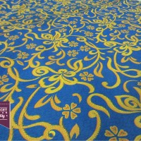 Kain Acassia - Print Motif Kembang (Interior, Furniture, Sofa)