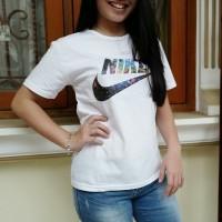Tmblr Tee / T-Shirt / Kaos Wanita / Nike Galaxy