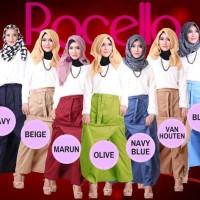 ROCELLA Rok Celana (L-XL) Muslimah/Kerja/Gaul/Kuliah