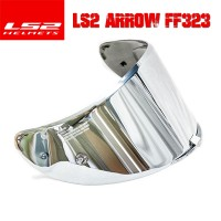 Visor Helm LS2 FF323 Arrow Iridium Silver Tear Off Post Ready
