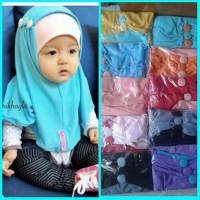 Jilbab Bayi Syria Mentos / Kerudung Anak / Hijab Baby Khimar