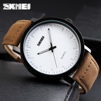 Jam Tangan Pria Casual SKMEI 1196 Original Anti Air 30M - Brown