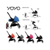 Stroller Babyzen Yoyo plus complete set (0+ dan 6+)