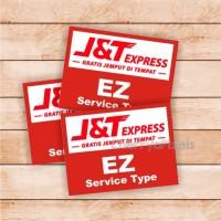 J&T Express - sticker - ekspedisi stiker - stiker kurir - label