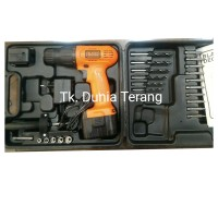 Black & Decker CD961PK-B1 Bor Elektrik 9.6 V