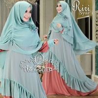 baju gamis / baju muslim / pakaian wanita Riri syari by Az Zahra