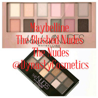 Jual Maybelline The Blushed Nudes Eyeshadow Palette Murah