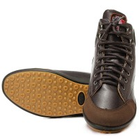 New Fashion Mens Flat Ankle Boots Casual Warm Shoes Lace-up HighT