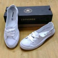 converse 3 hole mono grade ori / sepatu kets wanita flat shoes