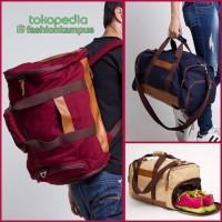 Jual Tas Travel /  Duffel / Sling Bag - Esgotado - Dufflo Primeiro Murah