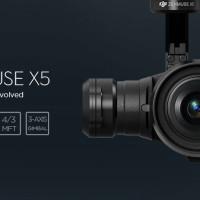 Camera DJI Zenmuse X5 For Drone Quadcopter DJI Inspire 1 Pro