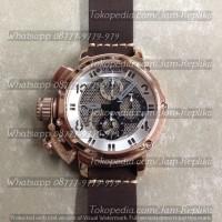 Jam Tangan Uboat Chimera 46 Net Tungsten Bronze Coat 8066