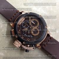 Jam Tangan Uboat Chimera 46 Skeleton Black Bronze 8067