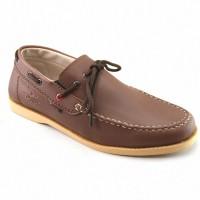 Sepatu Pria Loafers Santai Kampus dan Kerja Redknot Hemera Brown Murah
