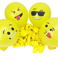 balon latex emoji / balon karet emoji / balon emoticon / balon emot