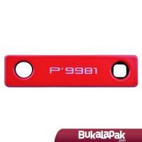 Blackberry Porsche Design P'9981 Lens Camera Bezel - Red LarisJaya
