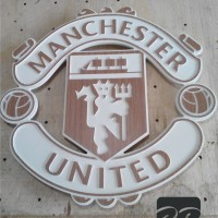 logo manchester united / MU 3D
