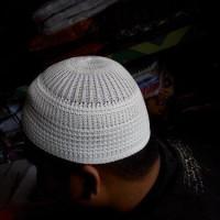 Peci Rajut / Kopiah Haji / Peci Haji / Kopyah Haji