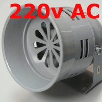 Motor Siren 220v AC Model MS-290 120db Alarm Sound