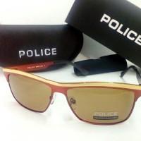 [Terbaru]Kacamata Pria Police 8665 Polaroid Super Fullset Kacamata~98