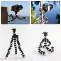 Tripod Gurita Mini Gorilla Flexible Camera Kamera + Holder U
