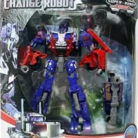 Mainan Anak Robot Transformer Super Change Medium Optimus Prime