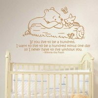 "Wall Decal Sticker Winnie the Pooh 2 - Size 23"" - Rina Shop"