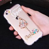 Bling-Bling Rhinestone Diamond Case IPHONE 5/ SE/ 5S, VIVO Y35 Baru |