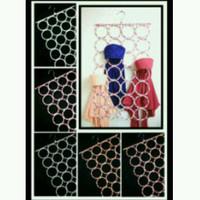 Jual Ring Jilbab Organizer (Ring Jilbab Origami) bisa untuk syall+ pa Murah