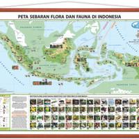 Jual Peta Sebaran Flora Dan Fauna Di Indonesia Kab Sidoarjo Cv Orion Tokopedia
