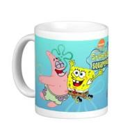 Mug Keramik Tema SpongeBob