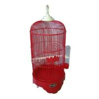 harga Kandang Burung Parkit-Lovebird-Pleci Small Merah Tokopedia.com