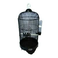 harga Kandang Burung Parkit-Lovebird-Pleci Small Hitam Tokopedia.com