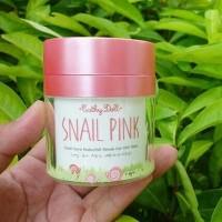 ORIGINAL Snail Pink Cream Cathy Doll - Serum Krim Pemutih Wajah