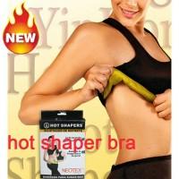 Hot Shapers Neotex Bra Tank Top Olahraga Senam Mengencangkan Payudara