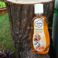 Obat Kumur Cussons Kids AntiBacterial Mouthwash Minty Orange Flavor