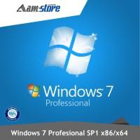 License Windows 7 Profesional SP1 32/64bit Online Key Activation ORI