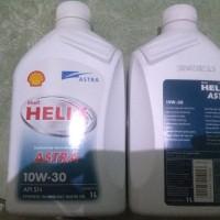 shell helix astra 10w30 api sn asli murmer