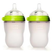 harga COMOTOMO : GREEN 250 ML TWIN PACK (Botol Susu Bayi / Baby Bottle) Tokopedia.com
