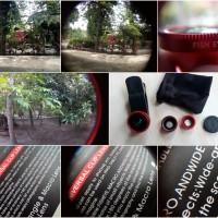 Jual lens klip wide, macro, fish eye untuk semua jenis smartphone, tablet Murah