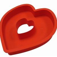 Jual Loyang Pan Brownie Bolu Spiku Pudding Cake Jelly Tart Love Besar Murah